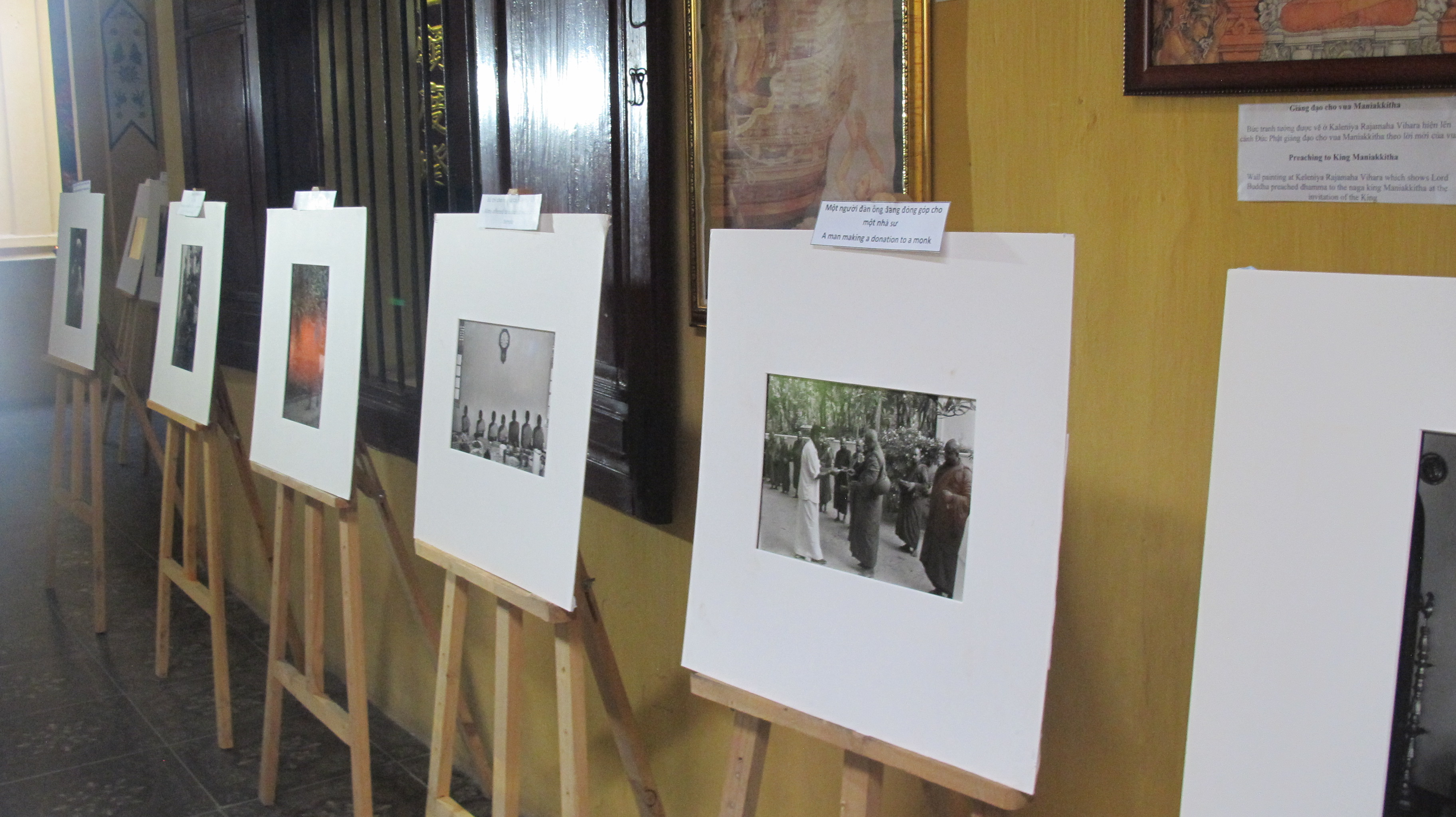 "Photo exhibition ""Insights into Sri Lankan Buddhist Culture"""