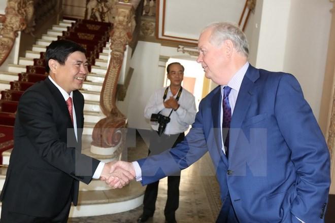 Ho Chi Minh-ville soutient la construction de l'Université Fulbright Vietnam