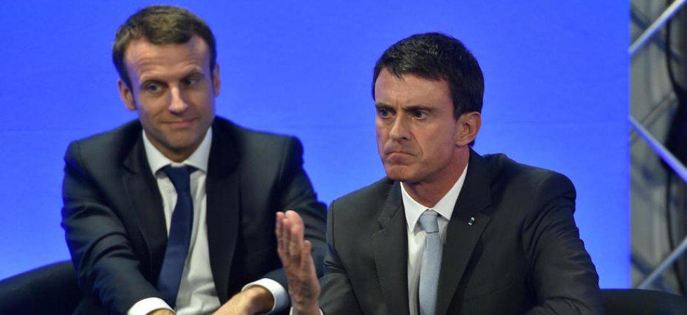 Soutien de Manuel Valls à Macron : la gauche française se déchire