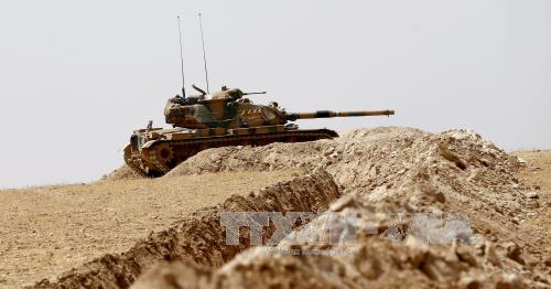Turkey vows to press Syria offensive