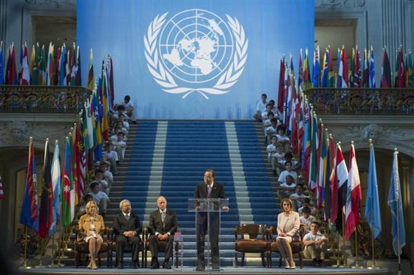 联合国强调实现和平和可持续发展的使命