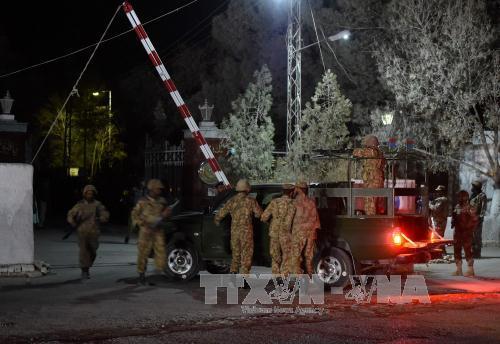 巴基斯坦警察培训学院人质解救行动结束