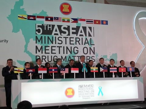 越南将承办东盟有关禁毒的两场会议