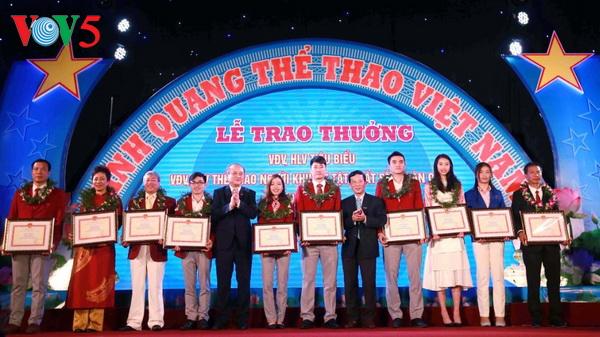 光荣的越南体育活动在河内举行