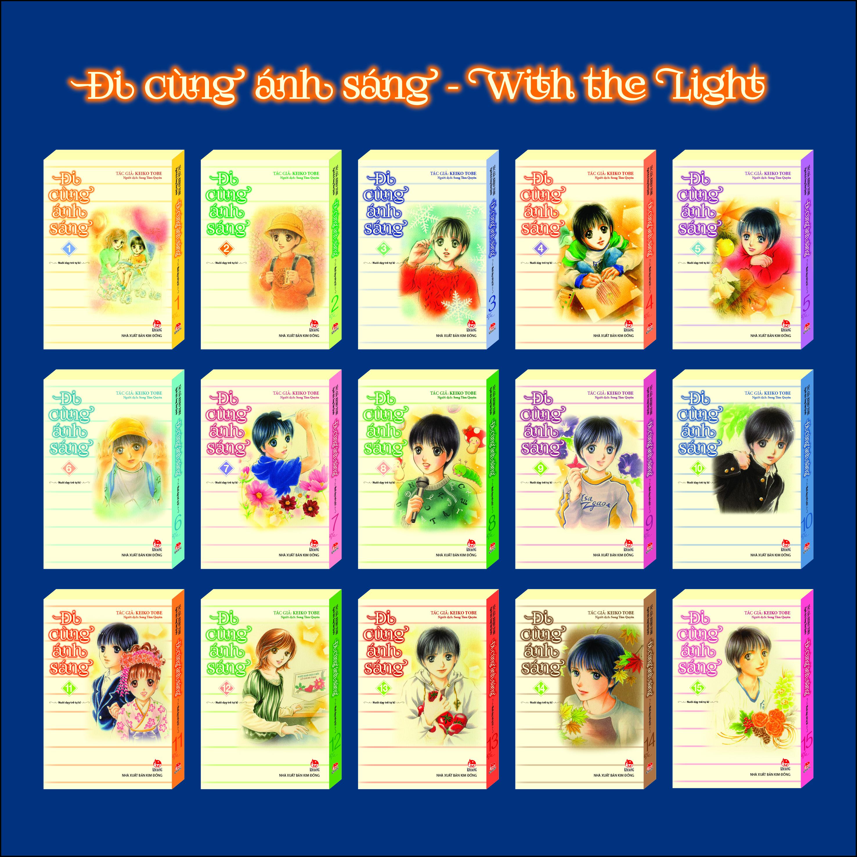 Ra mắt trọn vẹn Đi cùng ánh sáng - Bộ sách tranh cảm động về nuôi dạy con