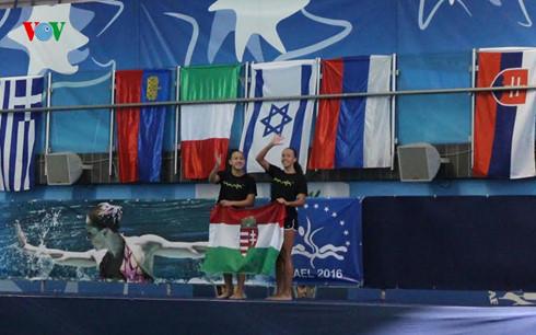 Nữ VĐV gốc Việt xuất sắc trong đội tuyển bơi quốc gia Hungary