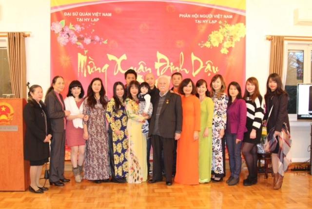 Cộng đồng người Việt Nam ở Hy Lạp mừng Tết Đinh Dậu