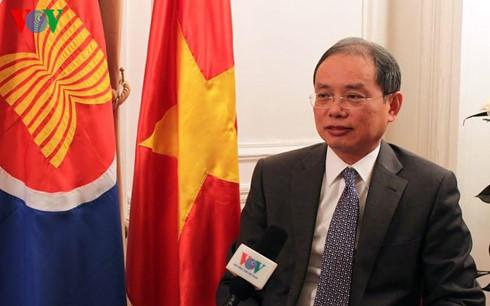 Der Vietnam-Besuch des französischen Präsidenten gibt der Beziehung zwischen beiden Staaten Ansporn