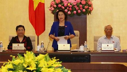 Abschluss der 7. Sitzung des Ständigen Parlamentsausschusses