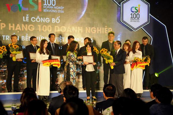 ประกาศรายชื่อสถานประกอบการใหญ่ 500 แห่งของเวียดนามประจำปี 2016