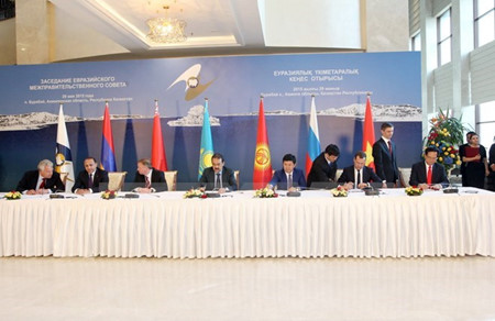 Russian President signs FTA between  EAEC and Vietnam
