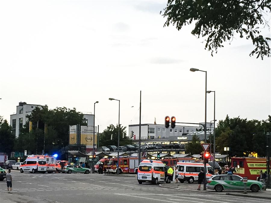 Munich shooting attack leaves casualties
