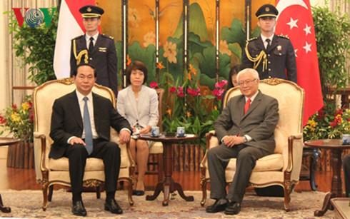 Heightening Vietnam-Singapore Strategic Partnership