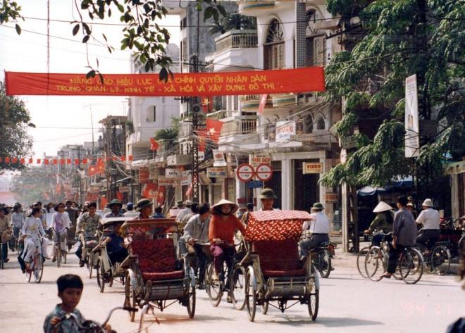 Hanoi's Old Quarter in 1990s through lens of Japanese diplomat