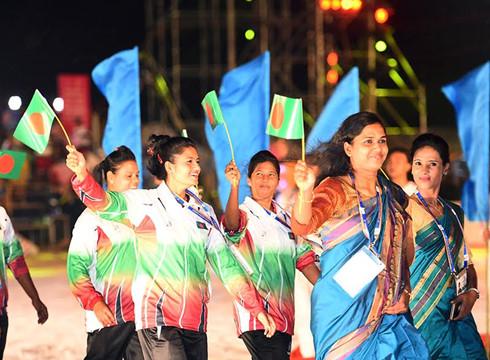 5th Asian Beach Games opens