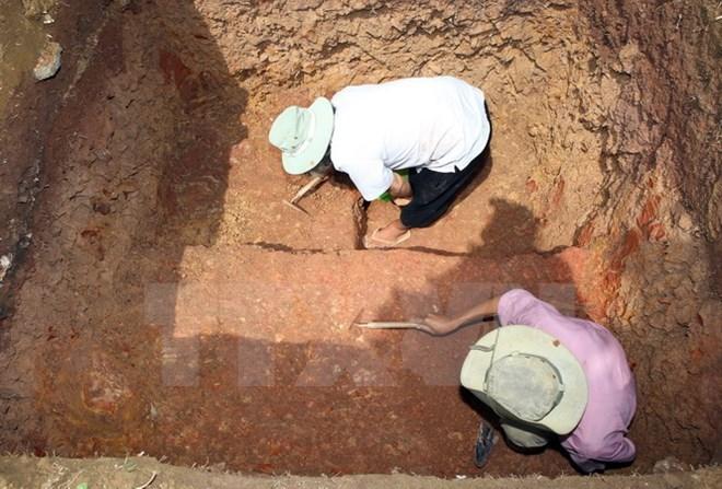 Champa artifact unearth in Quang Ngai province