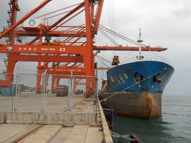 Pusat Informasi Logistik Pelabuhan Tiongkok-ASEAN mulai beraktivitas