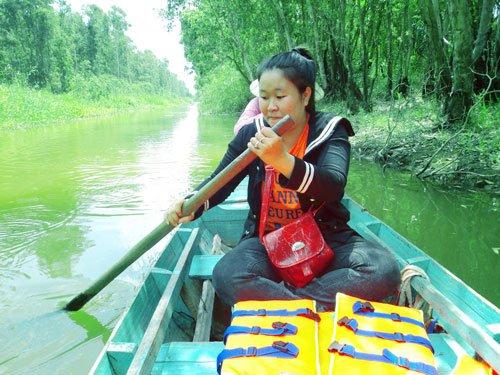 gao giong- zona ekowisata  yang menarik di kawasan dong thap muoi hinh 2