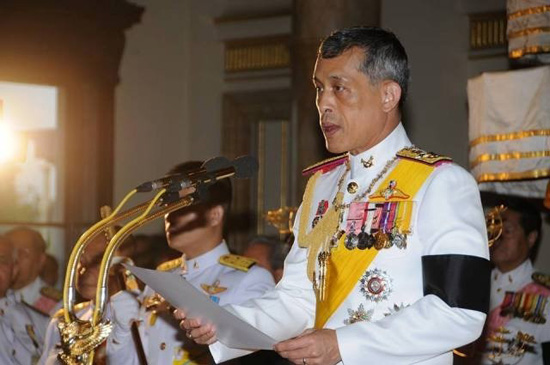 raja  thailand meminta supaya mengamandir rancangan uud hinh 0