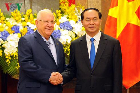 kerjasama ekonomi dan sains-teknologi merupakan pilar prioritas dalam hubungan bilateral vietnam-israel hinh 0