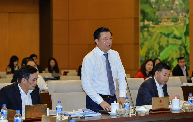 komite tetap mn vietnam  berbahas tentang ruu mengenai pengelolaan utang publik (amandemen) hinh 0