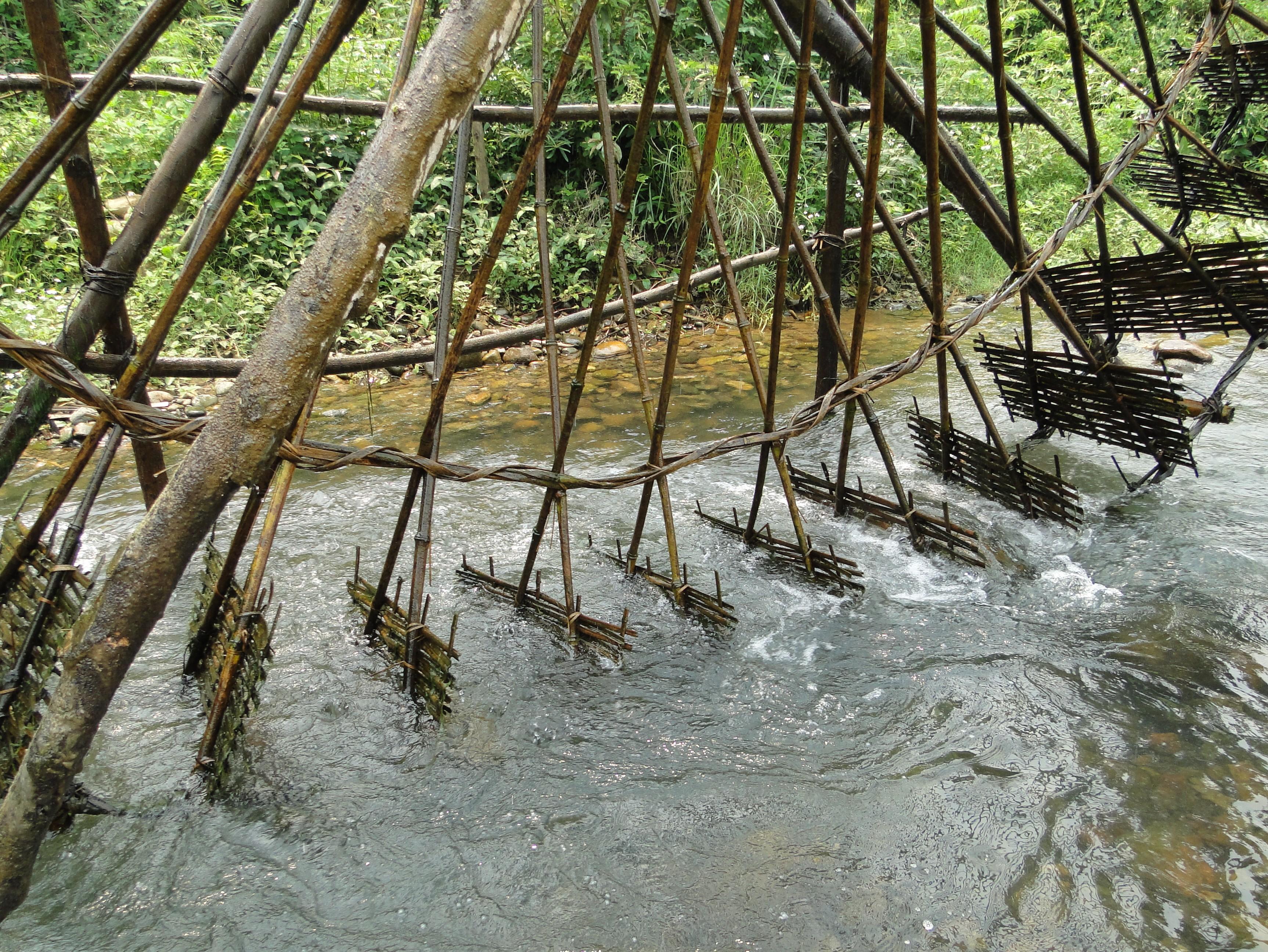 jentera air di kecamatan ban bo-bangunan yang kreatif dan  unik dari warga etnis-etnis provinsi lai chau hinh 3