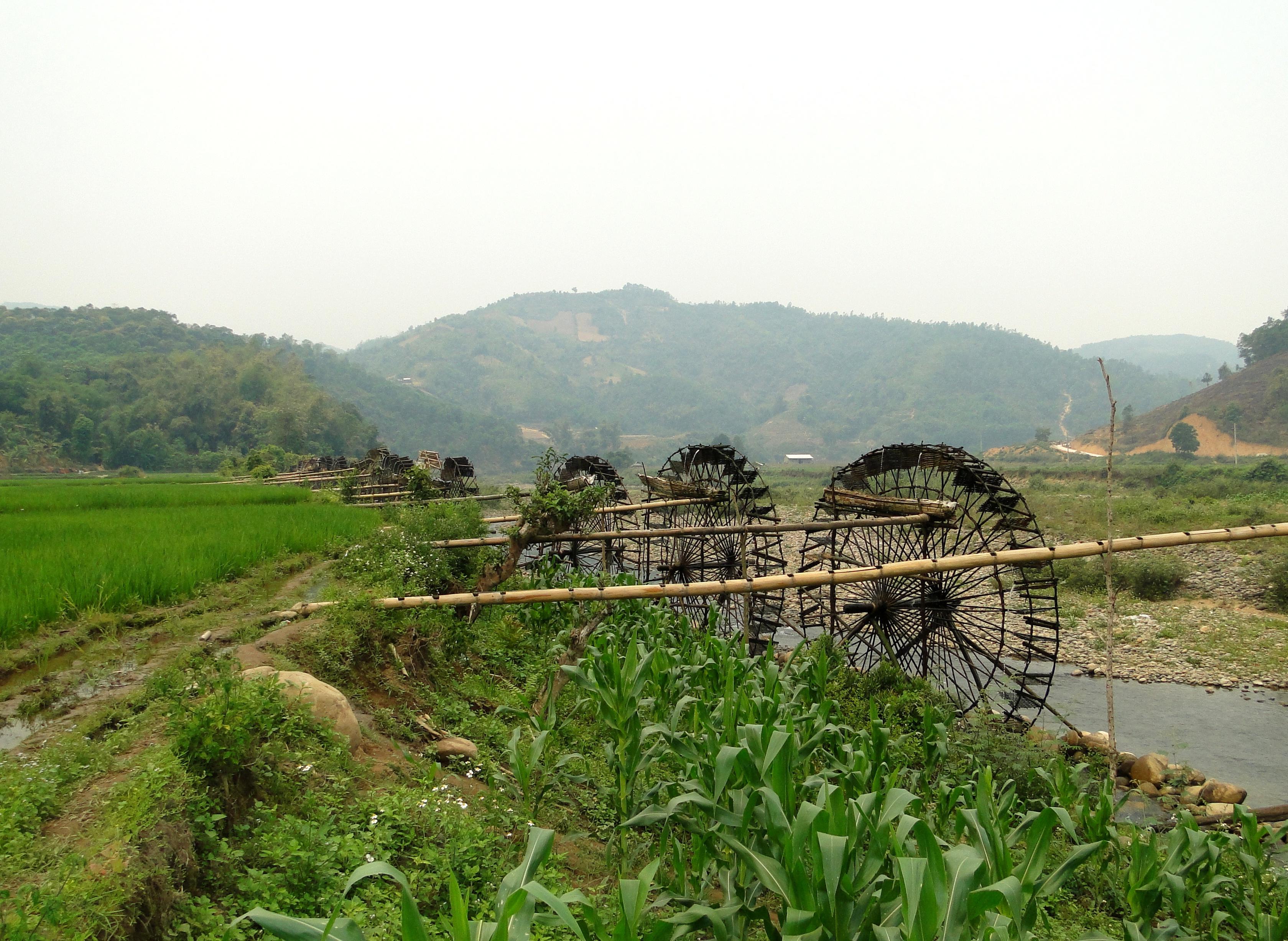 jentera air di kecamatan ban bo-bangunan yang kreatif dan  unik dari warga etnis-etnis provinsi lai chau hinh 5