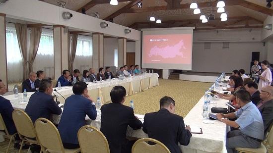 在ロシアヘトナム企業協会、活動を総括 hinh 0