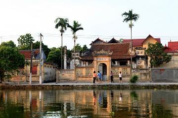 ヘトナム北部の村の特徴 hinh 3