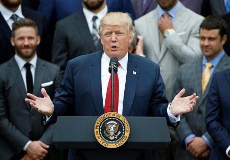 トランフ米大統領 ヘトナムてのapec首脳会議に出席 hinh 0