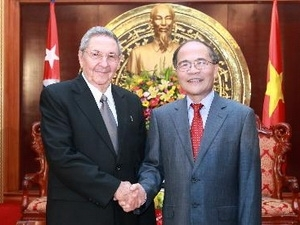 na chairman nguyen sinh hung urges for more cooperation with cuba hinh 0