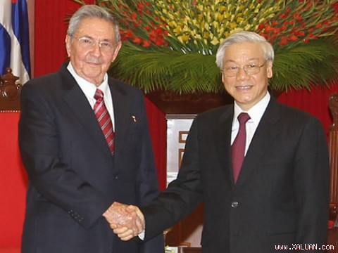 vietnam – cuba relations enter a new phase of development hinh 0
