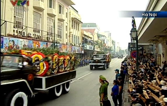 Hanoians pay last respects to General Vo Nguyen Giap State funeral for General Vo Nguyen Giap