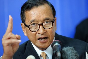 Cambodia's National Assembly criticizes opposition leader Sam Rainsy