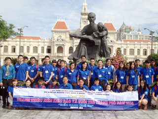 Summer camp for OV, Ho Chi Minh City's youths opens