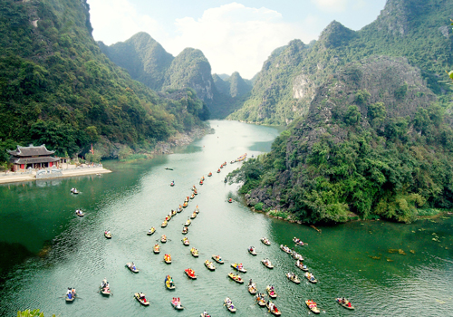 Trang An eco-tourism site in Ninh Binh province Discovery Vietnam