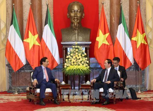 Vietnam welcomes Kuwait's enterprises: President Tran Dai Quang