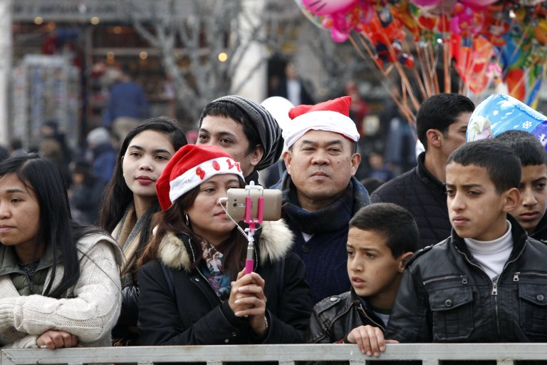 Christmas welcomed around the world