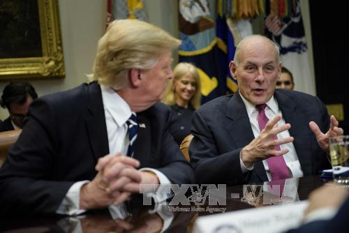 Slow approval of President Donald Trump's cabinet