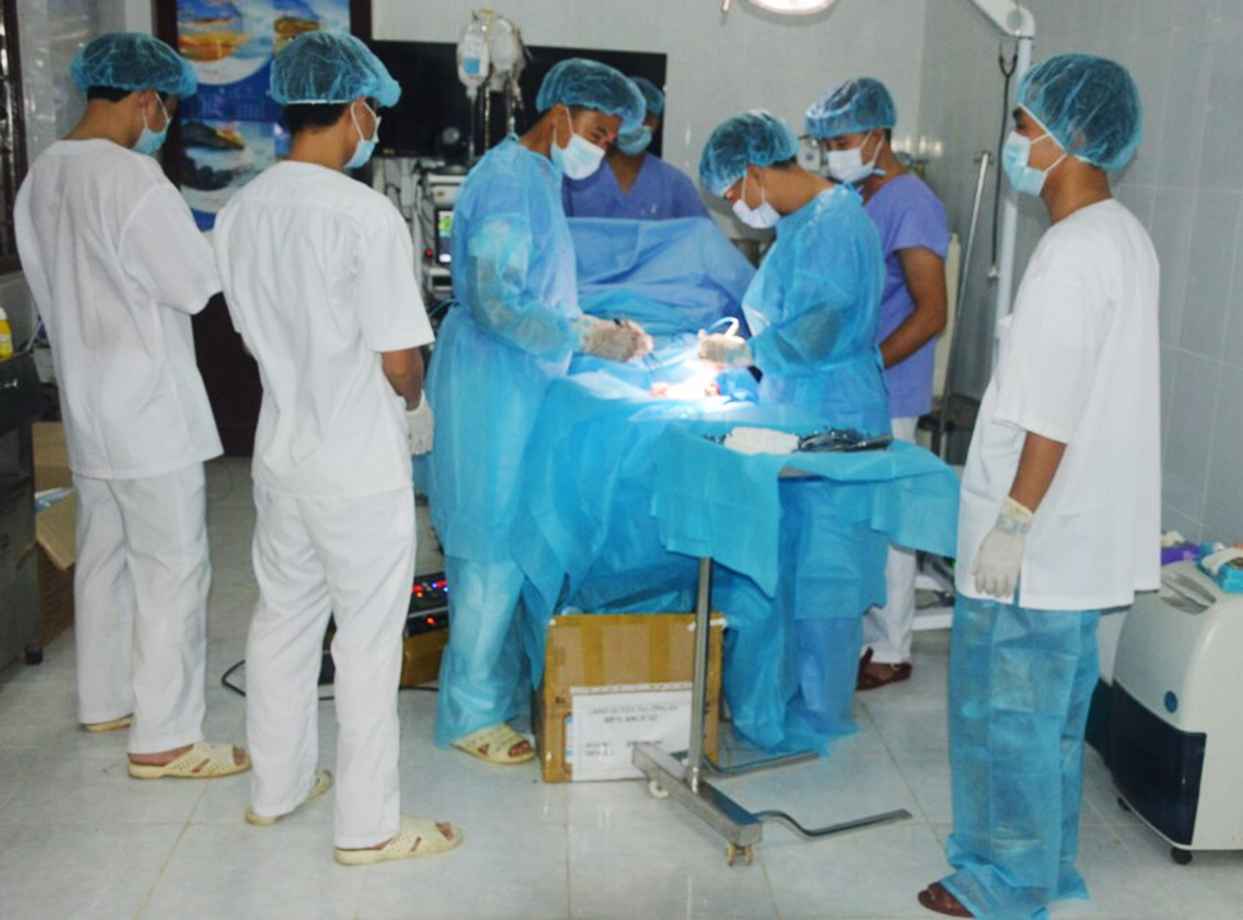 military doctors in truong sa island district hinh 1