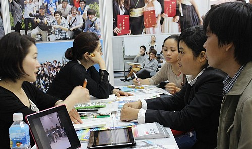 Benefits from education cooperation projects with Japan Society