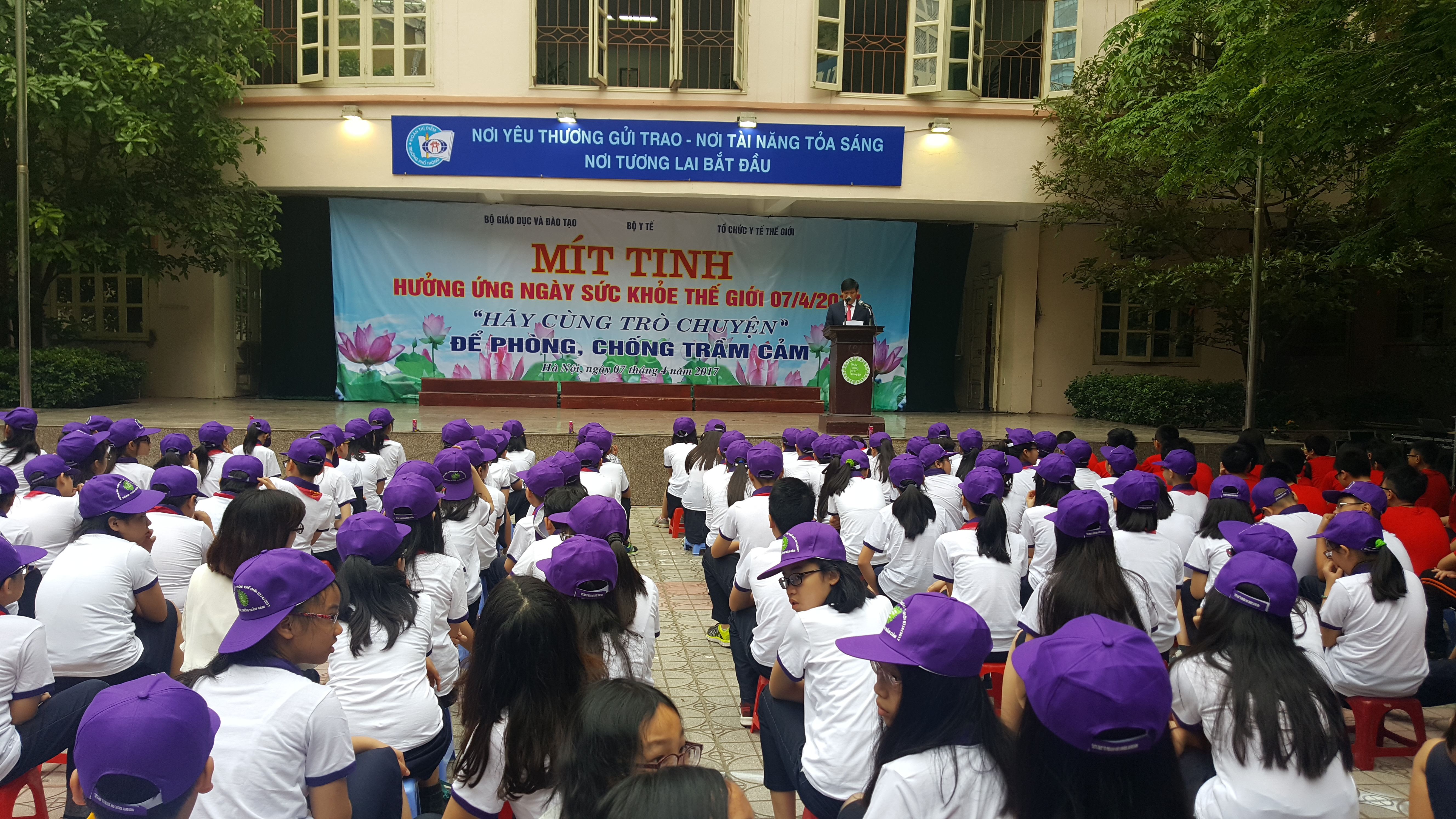 Meeting responds to World Health Day 2017