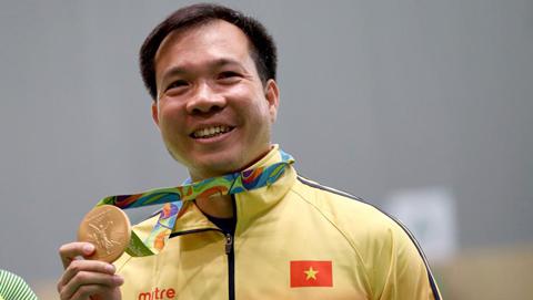 リオ五輪射撃、ヘトナムは初の金メタルを獲得 hinh 1
