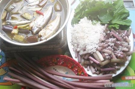 トン・タッフ・ムオイの食へ物文化 hinh 1