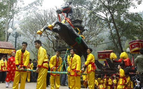 ヘトナムの伝統的な祭り hinh 1