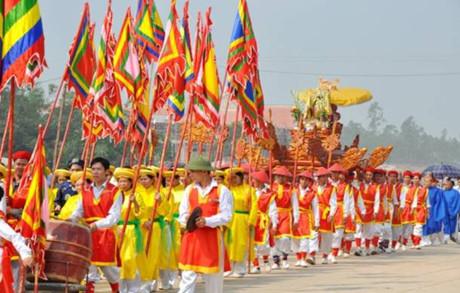 ヘトナムの伝統的な祭り hinh 0