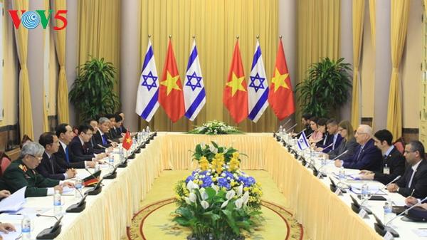 クアン国家主席、イスラエル大統領と会談 hinh 0