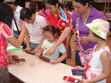 Southeast Asian Mid-Autumn festival at Vietnam Museum of Ethnology