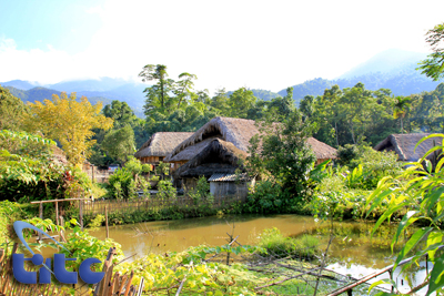 Stilt-house of the Tay in Ha Giang province Colorful Vietnam-Vietnam's 54 ethnic groups