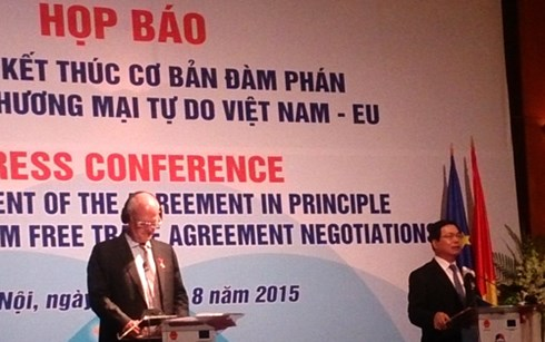 FTA and new prospects for Vietnam-EU cooperation Current Affairs